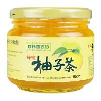 [当当自营] 韩国进口 农协 蜂蜜柚子茶550g