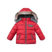 davebella戴维贝拉男女童冬季新款宝宝保暖90羽绒服