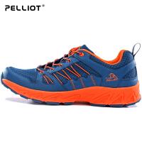 【618返场大促】法国PELLIOT户外登山鞋 男防滑透气登山徒步鞋 女耐磨越野跑鞋
