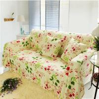 乐唯仕欧式沙发套沙发罩夏季纯棉布艺垫全包盖四季通用防尘定做制