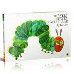 The Very Hungry Caterpillar [Paperback] 好饿的毛毛虫(平装,英国版)ISBN9780140569322