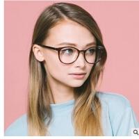 新款时尚眼镜框潮2304 百搭大框平光镜装饰眼镜架 防辐射眼镜
