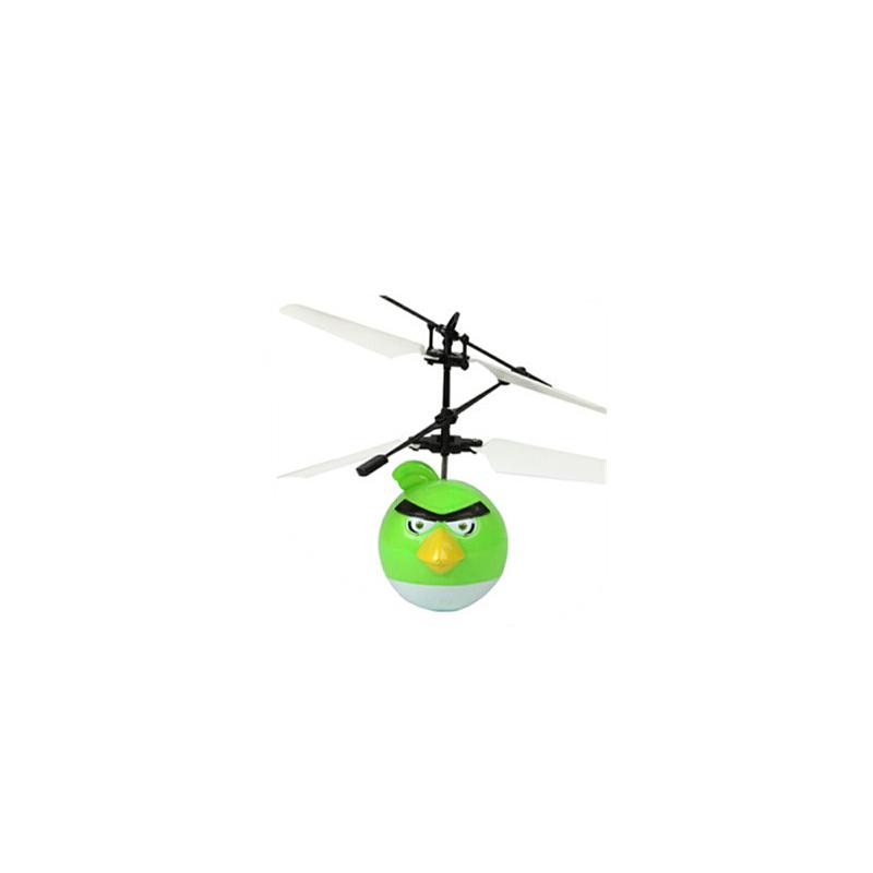 儿童玩具 大白飞行器愤怒小鸟 小仙女 蜘蛛侠飞行器飞机玩具 耐摔直升