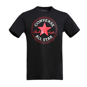 Converse匡威 2017新款男子运动休闲短袖T恤 10002848-A01/10002848-A02