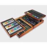 儿童绘画工具箱美术用品画笔水彩笔蜡笔套装礼盒儿童礼物