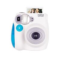 【包邮+可礼品卡支付】富士拍立得 mini7s 蓝色相机 迷你7s 一次成像 即影即得拍立得相机 生日礼物 情人节礼物送女友 过节礼物送好友