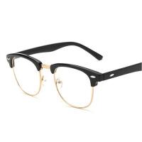 男女防蓝光可配镜 平光防辐射眼镜  电脑护目镜