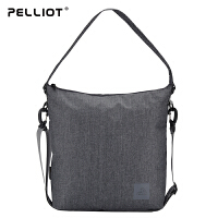【618返场大促】法国PELLIOT运动单肩包女 多功能小肩包运动包男休闲户外包斜挎包