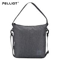 法国PELLIOT运动单肩包女 多功能小肩包运动包男休闲户外包斜挎包