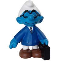 [当当自营]Schleich 思乐 蓝精灵系列 售货员蓝精灵系列 仿真塑胶模型收藏玩具动漫周边 S20774