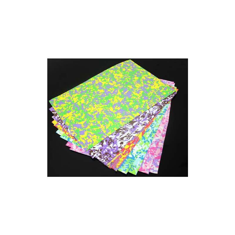 迷彩海绵纸 1mm彩色泡沫纸