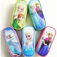 迪士尼冰雪奇缘爱莎公主儿童文具袋小学生文具盒笔袋