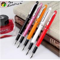 毕加索签字笔608 安格里斯办公钢笔学生钢笔毕加索宝珠笔高档男女士商务金属中性走珠水笔