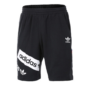Adidas阿迪达斯男裤  2017夏季新款三叶草休闲透气短裤  BQ0917