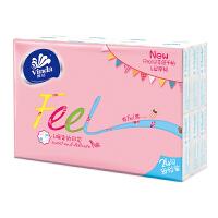 [当当自营] 维达 手帕纸 Feel系列 4层印花纸巾*24包(幸福小印花)