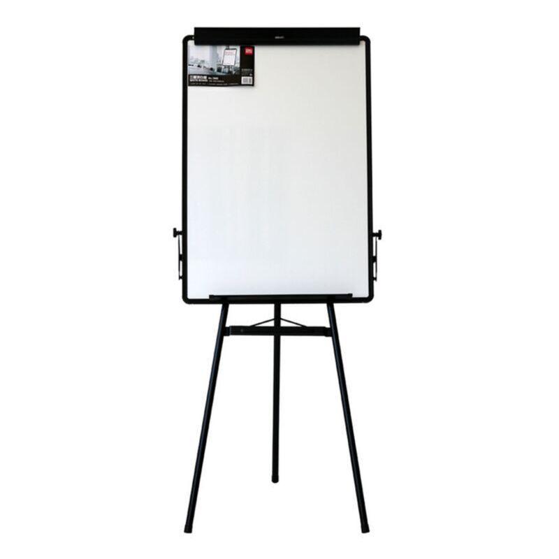 得力7892支架式可移动三脚架 挂纸画板 60 90 办公室白板全场满50包邮图片