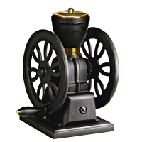 台湾原装BE9362 纯铸铁超豪华大双轮手摇磨豆机 手动咖啡豆研磨机