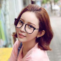 复古方框金属腿眼镜框 潮人时尚眼镜架 可配近视平光镜