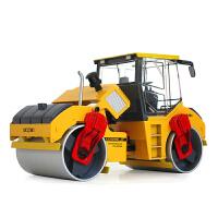 凯迪威 合金工程车模型玩具1:35双钢轮压路机原厂 儿童节礼物