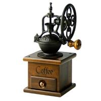 台湾原装BE8501-9小单轮手摇磨豆机 咖啡研磨机 磨咖啡豆粉碎机