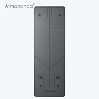 Atmananda正位瑜伽垫 引导正确练习 防滑瑜珈垫子 加厚加长运动健身垫 4mm颀长垫