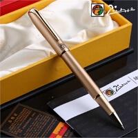 Pimio 毕加索签字笔 官方正品916经典款土豪金 金属签字笔宝珠笔 男女士商务办公礼品签名笔 走珠中性水笔芯 节日礼物