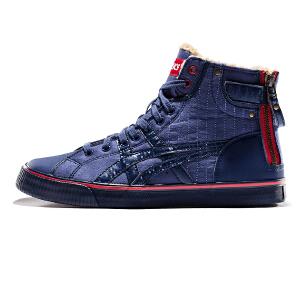 亚瑟士ASICS秋冬新款绒毛内里保暖休闲鞋男式运动鞋DOUBLEH53YJ-5823
