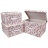 [当当自营] 百草园 整理箱组合装三件套 收纳箱 柜 优品优质收纳盒