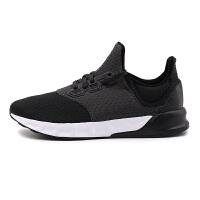 Adidas阿迪达斯 2017夏季新款男子黑武士运动休闲轻便透气跑步鞋 BA8166