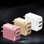 蛇蝎龙 手机充电器充电头双USB充电头单USB充电头手机平板充电 通过3C认证