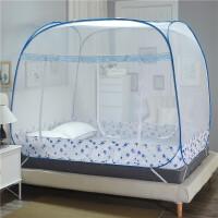 蒙古包蚊帐三开门免安装1.5m床1.8米圆顶双人学生上下床家用