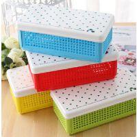 甜美糖果色 DIY 可折叠 收纳盒 笔筒 天卓文具盒