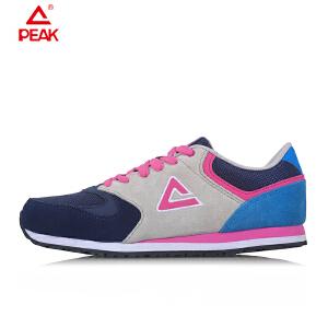Peak/匹克 女鞋低帮撞色运动鞋复古休闲鞋DE520012