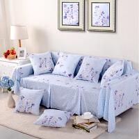 沙发垫坐垫四季沙发套装沙发巾花边简约沙发罩