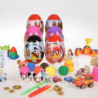 智高KK魔法蛋 迪士尼魔法蛋D-3001/D-3002 粘土3d彩泥模具套装