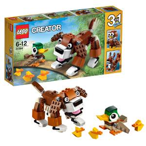 [当当自营]LEGO 乐高 Creator创意百变系列 公园动物 积木拼插儿童益智玩具31044