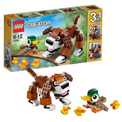 [当当自营]LEGO 乐高 Creator创意百变系列 公园动物 积木拼插儿童益智玩具31044【当当自营】适合6-12岁,202pcs小颗粒积木