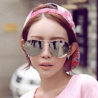 2016新款时尚炫彩太阳镜049 欧美潮牌连体框太阳眼镜 反光墨镜