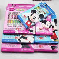 满99包邮 真彩M-016-24油画棒 米奇油画棒 真彩24色油画棒 迪士尼油画棒