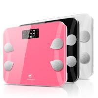 香山精准电子称体脂秤成人家用体重称人体脂肪健康秤