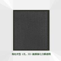 美国Airneat/艾尔耐迪空气净化器除味滤网美国新科研成果,角柱状触媒催化分解有机气态分子,分解量为平板型触媒的5倍或以上。