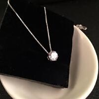 欧丁925纯银项链 韩国链女银饰 时尚配饰银链子H024