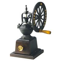台湾原装BE9271-A大铁轮手摇磨豆机 咖啡研磨机 手动家用磨咖啡豆