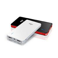 aigo爱国者聚合物移动电源TD100便携轻薄充电宝 大容量10000毫安 手机平板通用充电宝