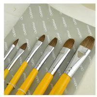 凡高826狼毫水粉画笔梵高凡高水粉笔水彩笔丙烯油画笔油彩笔