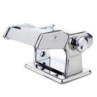 不锈钢面条机  手摇饺子皮擀面器  家用手动压面机  小型分体式面条机