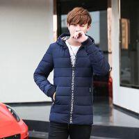 新款秋冬装男士外套 青年短款棉袄韩版男装加厚棉服