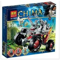博乐Chima神兽气功传奇10058鹰杰斯狼族战车