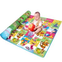 迪士尼 爬行垫加厚2cm双面环保无味宝宝爬爬垫婴儿童游戏地毯泡沫