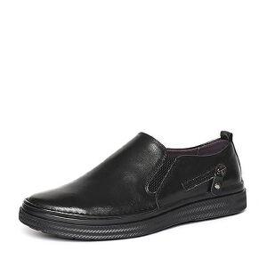 Belle/百丽专柜同款冬季牛皮男皮鞋4PS01DM6
